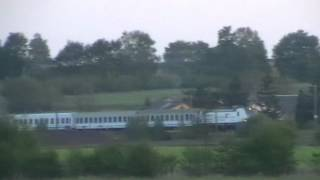 preview picture of video 'Siemens Vectron w Miechowie / Siemens Vectron locomotive in Miechow'