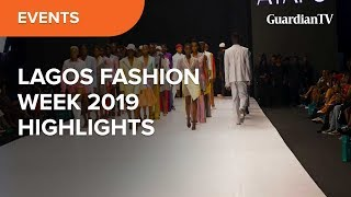 Couture Meets High-street Style In Lagos Fashion Week 2019