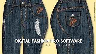 Digital Fashion Pro Software -  How To Design Clothing And Make Fashion Sketches