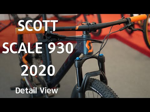 Видео о Велосипед Scott Scale 930 grey/black 274593.009