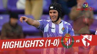Resumen De Real Valladolid Vs Sevilla Atlético (1-0)