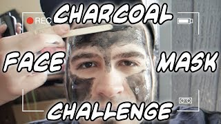 Exclusive: Charcoal Face Mask Challenge