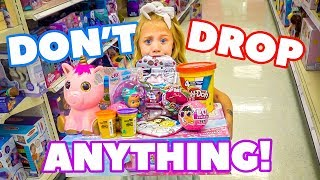 Anything 6 Year Old Everleigh Can Carry, We'll Pay For!!! - Challenge