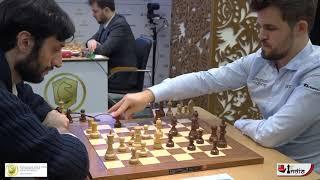Magnus Carlsen's killer move stuns Jobava | World Blitz 2019