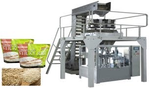 MultiHead Weigh Filling VFFS Packaging Machine for Large Bags food packing equipment for Granules