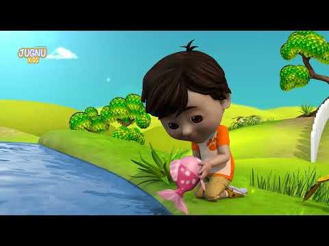 Machli Jal Ki Rani hai - Hindi Rhymes | Nursery Rhymes from jugnu Kids Screenshot 3