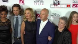 'American Horror Story: Coven' Cast arrive at Season 3 Premiere Screening in LA