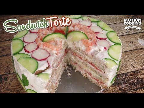 Video Sandwich Torte