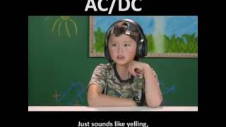 kids react to ACDC