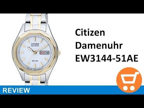 Citizen Eco-Drive Damenuhr EW3144-51AE - Review | deutsch / german