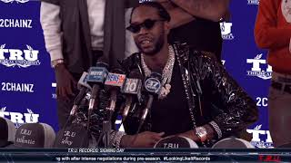 2 Chainz T.R.U. Records Signing Day
