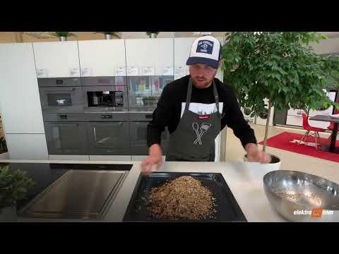 Recept na domácí musli s javorovým syrupem | Miele H 7860 BP