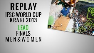 preview picture of video 'IFSC Climbing World Cup Kranj 2013 - Lead - Finals - Replay'