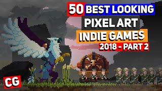 50 BEST LOOKING Pixel Art Indie Games Of 2018 - Part 2