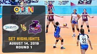 BaliPure vs. Choco Mucho | Set 2 Highlights - August 14, 2019 | #PVL2019