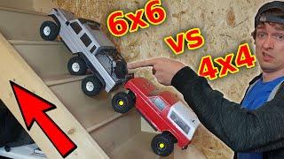 Cheap 6x6 vs Expensive 4x4 RC Rock Crawlers