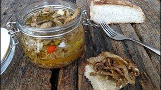 EGGPLANT PRESERVED IN OLIVE OIL Italian Recipe - Italian Appetizers Bruschetta