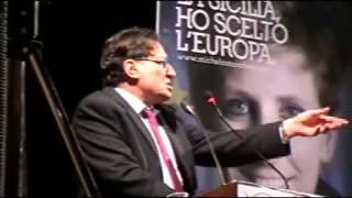 preview picture of video 'Elezioni Europee 2014 Crocetta propone Michela Stancheris a Gela (Teatro Eschilo)'
