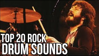 Top 20 GREATEST Drum Sounds Of All Time