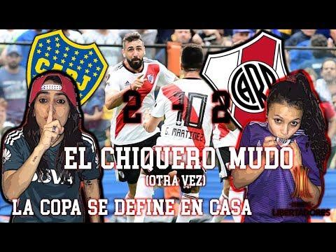 Video Reacción IDA COPA LIBERTADORES | Boca 2  vs River Plate 2 | LA COPA SE DEFINE EN CASA