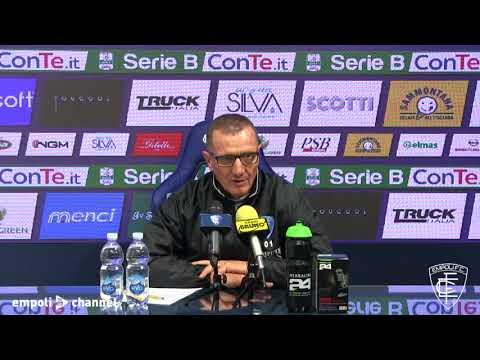 Preview video Le parole di mister Andreazzoli in vista di Foggia-Empoli