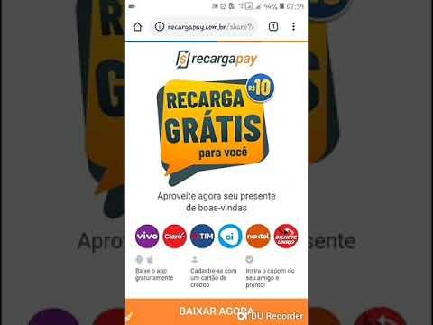 GANHE 15 REAIS GRÁTIS PARA RECARREGAR SEU CELULAR  | RECARGAPAY