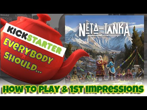 How to play & 1st impressions of the Kickstarter