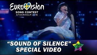 "Dami Im - ""Sound Of Silence"" - Special Multi-cam video - Eurovision 2016 (Australia)"