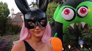 CADILAR BAYRAMI PARTİSİNE BENİMLE HAZIRLANIN🎃 Halloween Vlogu
