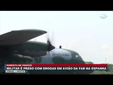 Um sargento da Força Aérea Brasileira foi preso no aeroporto de Sevilla, na Espanha, sob suspeita de transportar drogas em um avião da FAB