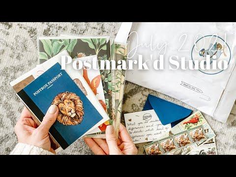Postmark'd Studio Unboxing July 2021
