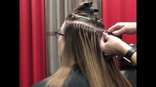 Micro-Link Hair Extension Installation / iTips