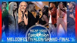Melodifestivalen 2019 - Grand Final - Recap Video W/ Running Order   Eurovision 2019 Sweden 🇸🇪