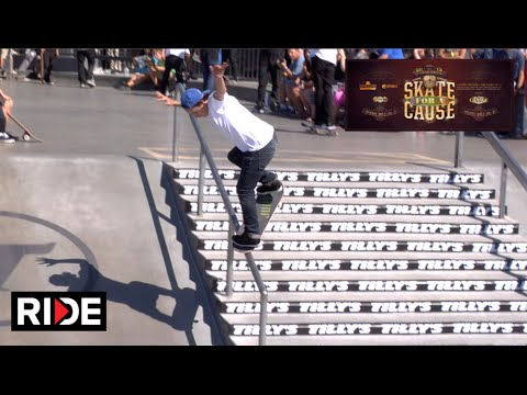 Ryan Sheckler & the Sheckler Foundation host 6th Annual SKATE FOR A CAUSE