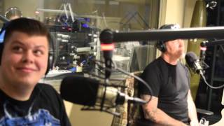 "James Hetfield announces Metallica's ""The Night Before"" concert on 107.7 The Bone"