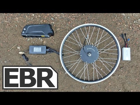 Electric Bike Outfitters Front Range 2.0 Kit Video Review – $1.4k Powerful Ebike Kit