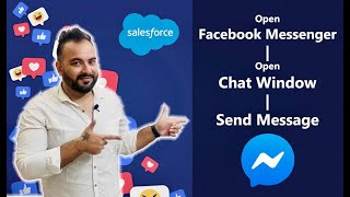 Open Facebook Messenger and Send Message using Lightning Component Salesforce | Salesforce Tutorials