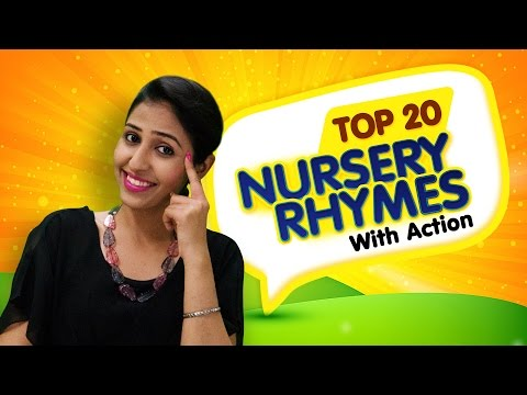 Nursery Rhymes For Kids | Top 20 Action Songs For Children | Nursery Rhymes With Actions