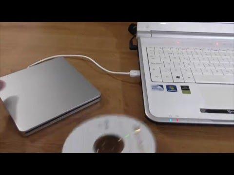 Unidad lector / grabador DVD VCD CD RW vía USB VicTop