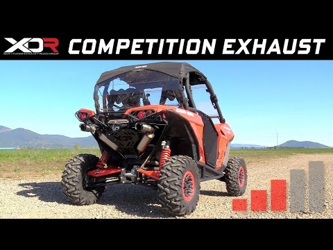 2013-18 Can-Am Maverick 1000R, Max 1000R - XDR Off-Road Competition Exhaust System