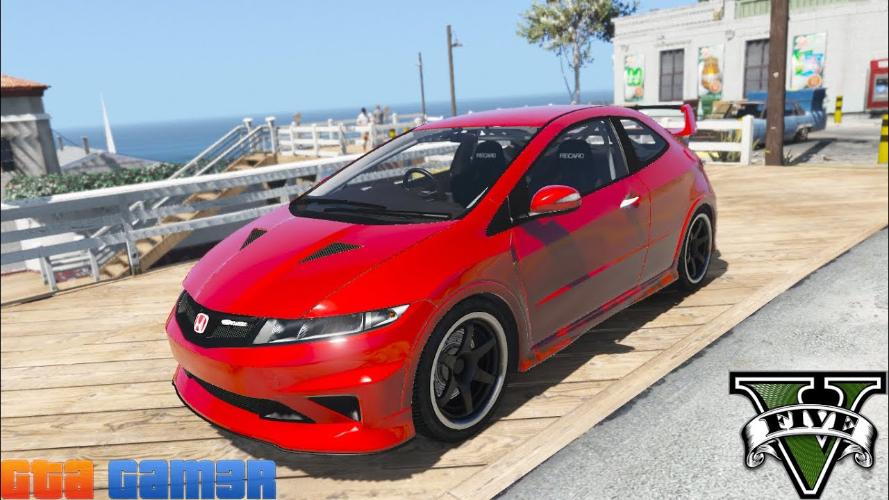 honda civic type r fn2 mugen add on gta5. Black Bedroom Furniture Sets. Home Design Ideas