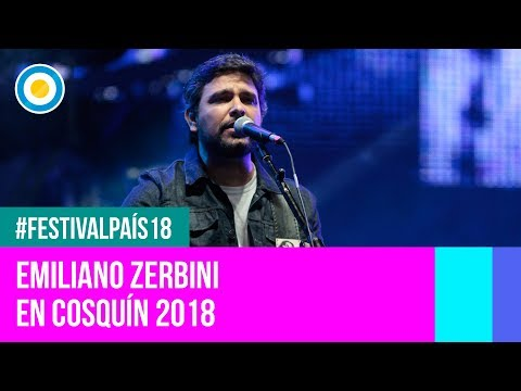 Festival País '18 - Emiliano Zerbini  en el  Festival Nacional de Folklore de #Cosquín2018