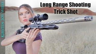 Long Range TRICK SHOT   STANDING Position!   EGG (Crazy TINY Target)