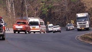 สำรวจโค้ง 100 ศพ จุดรถบัสตกเหว ถนนสายตาก-แม่สอด - Springnews