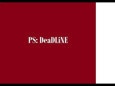 HomeStudioPS - PS: DeaDLiNE