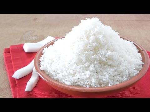 Video How to make Desiccated Coconut