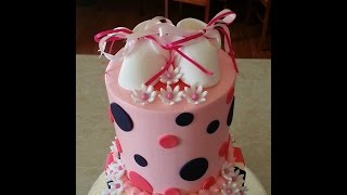 "Baby Shower Cake ""it's a girl"""