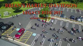 Legacy Ride Morning Roll Out 6/25/2017 32 Years Strong