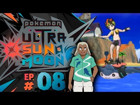 Pokémon Ultra Sun and Moon - Episode 7 | Surfing to Akala