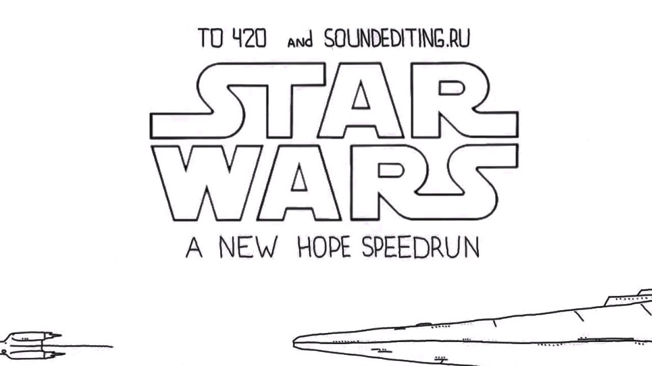 Watch Star Wars: Episode IV Distilled Down To 60 Awesomely Animated Seconds